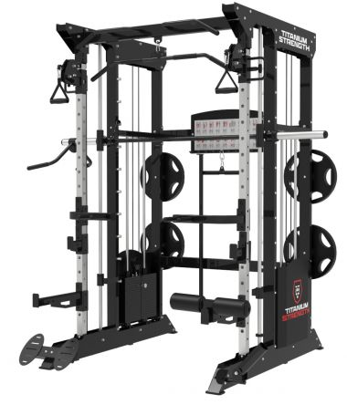 Titanium Strength Black Series B200 With 440 lb Weight Stack