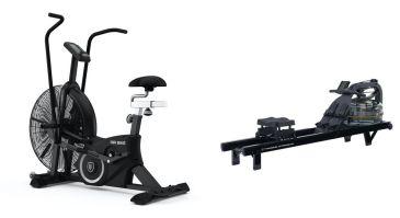 Titanium Strength Pack AirBike + Acqua Rower PRO, HIIT Cardio, Fitness, Crossfit