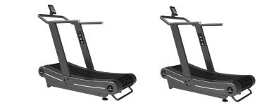 Titanium Strength Pack 2 Curved Treadmill, HIIT Cardio, Fitness, Crossfit