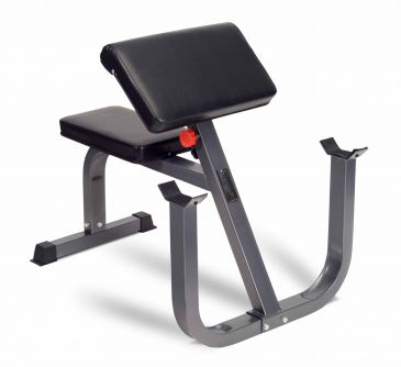Titanium Strength Deluxe Preacher Curl, Workout, Fitness, Biceps