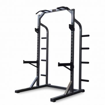 Titanium Strength Half Rack, Fitness, Crossfit, Workout, Home Gym, Arms, Chest, Shoulders, Multistation, Functional