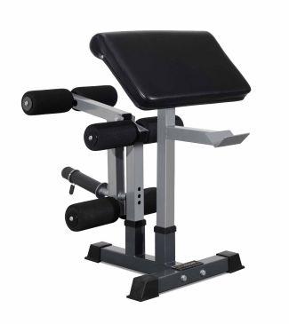 Titanium Strength Leg Developer, Preacher Pad and Attachment Holder Set, Fitness, Home Gym, Workout, Glutes, Biceps, Full Body