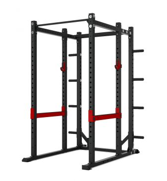 Titanium Strength Comercial Athletic Power Rack - X Line, Olympic, Functional, Crossfit, Fitness, Home Gym