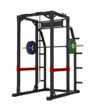 Titanium Strength Commercial HD Heavy Duty Power Rack - X Line,Olympic, Functional, Crossfit, Fitness, Home Gym