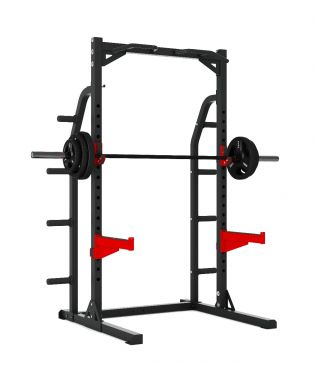 Titanium Strength Evolution Heavy Duty Half Rack, Olympic, Functional, Crossfit, Fitness, Home Gym
