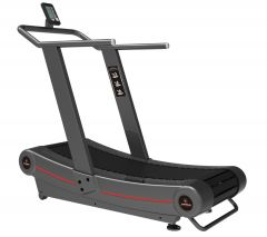 Titanium Strength Commercial Curved Treadmill, HIIT Cardio, Home Gym, Crossfit, Fitness