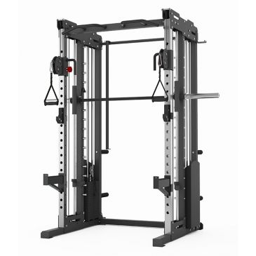 Titanium Strength Commercial FT3: Dual Pulley,  Smith System and Rack, Olympic, Functional, Crossfit, Fitness, Home Gym