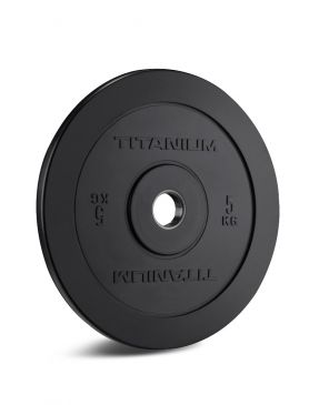 Titanium Strength HD Bumper Plates Black 11 LB, Crossfit, Fitness, Home Gym, Functional