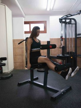 Titanium Strength Evolution Dual Leg Curl and Leg extension
