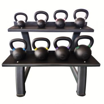 Titanium Strength Kettlebells Set 8,8-52Lb + Rack, Olympic, Functional, Crossfit, Fitness, Home Gym
