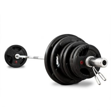 Titanium Strength 176 LB Olympic Rubber Radial Kit, Olympic, Functional, Crossfit, Fitness, Home Gym