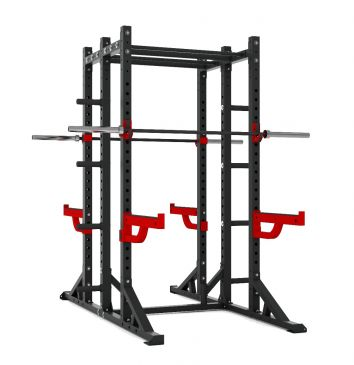 Titanium Strength Comercial Athletic Combo Rack - X Line, Olympic, Functional, Crossfit, Fitness, Home Gym